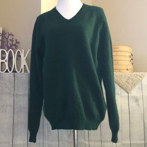 Club Room sz L 100% Cashmere Pullover Sweater